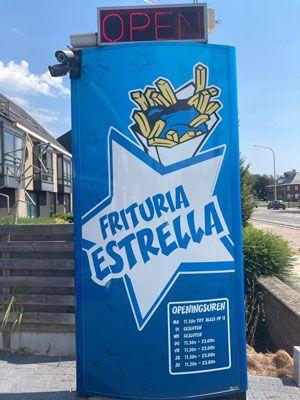 Restaurant  | Frituria Estrella | <b>Wereldrecordhouder frieten bakken sinds<br>17-04-2019</b> | Malle, Antwerpen, be