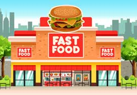 Fastfood in Nederland - Noord-Holland